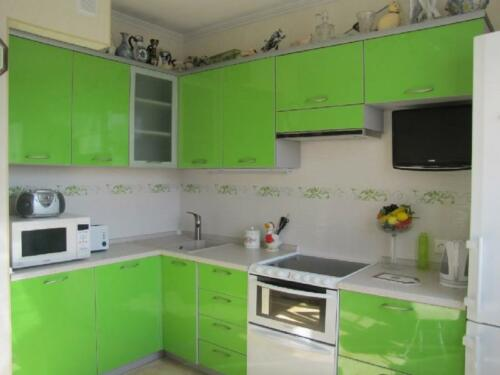 Кухня пластик 004