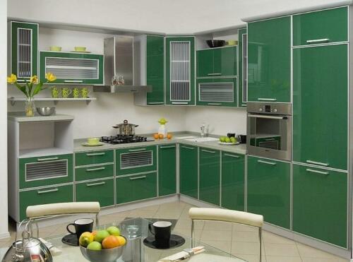 Кухня пластик 027