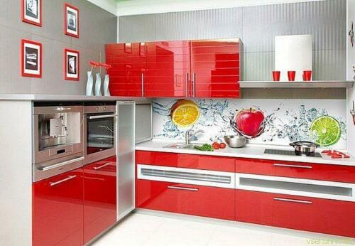 Кухня пластик 033