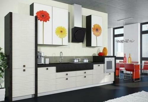 Кухня пластик 036