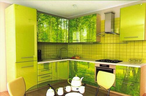 Кухня пластик 048